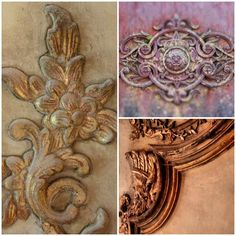 Patina Details from Chateau Gaudanes in France | Modern Masters Cafe Blog