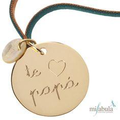 """Un """"te quiero papá"""" muy especial. www.mifabula.com"""