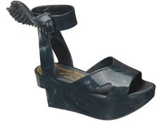 """Vivienne Westwood by Melissa """"Wing"""" Anglomania shoes, aka West Wing II Platform Sandal"""