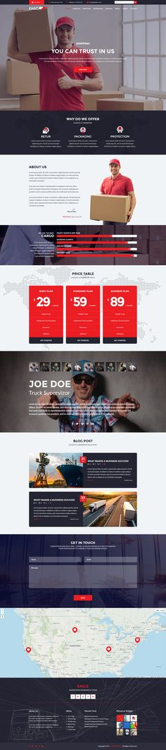 Transportation Theme, Corporate Business, Wordpress Theme, Eagle, The Incredibles, Eagles, Wordpress Template