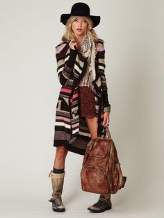 Graphic sweater coat - cute or not?