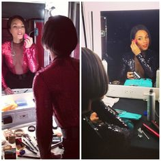 Alicia Keys gets ready on tour with the beautyblender