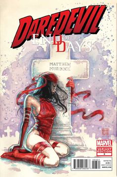 Daredevil: End of Days # 3 (Variant) by David Mack