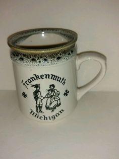 Vintage Collectible Coffee Mug Frankenmuth Michigan MI
