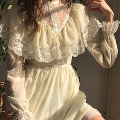 clothes and styles Pretty Dresses, Beautiful Dresses, Mode Outfits, Fashion Outfits, Emo Fashion, Princess Aesthetic, Disney Aesthetic, Aesthetic Vintage, Looks Cool