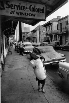 Segregation in services and shops. New Orleans, 1963 - Leonard Freed