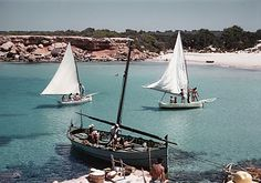 Diary of a Lost Girl. Ibiza Formentera, Ibiza Spain, Balearic Islands, Fishing Boats, Sailing Ships, Sailing Boat, Lighthouse, Cruise, Beautiful Places