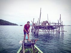 """ Wonderful Indonesia "" Penatah Besar Island West Borneo"