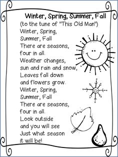Seasons song