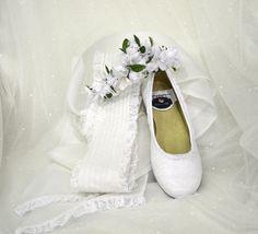 Zapatos personalizados con encajes de valencié
