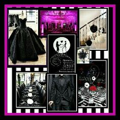 The Nightmare Before Christmas Wedding Ideas This Makes Me Want To Completely Change My Theme No More Plum