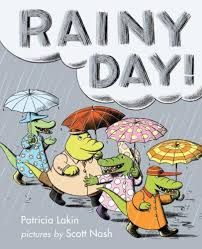 by Patricia Lakin - Four young crocodiles find all sorts of ways to keep busy on a rainy day. Rainy Day Quotes, Weather Quotes, Rain Humor, Rainy Day Images, Scary Places, Rainy Day Activities, Make It Rain, Children Images, Great Stories
