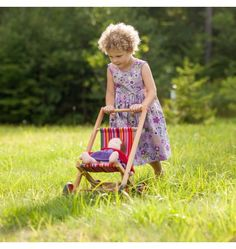 Nova Natural Toys + Crafts - Playing - Doll Stroller