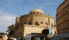 start to scout the old coptic Cairo sites by visiting the Hanging Church, continue your tour by visiting Abu Serga Church, then move to Ben Ezra Synagogue, Ancient Romans, Ancient Egypt, Places In Egypt, Egypt Travel, Site Visit, Bacchus, Cairo Egypt, Christian Church, Travel Guide