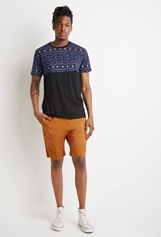 Abstract Dotted Panel Tee