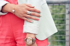 Style Rhapsody: Bloggers Do It Better: Mint + Coral