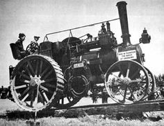 Traction Engines in South Canterbury, N.Z.