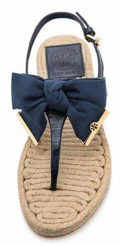 Tory Burch sandal. Sweet.