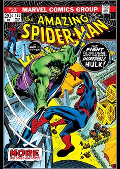 Marvel Comics Retro Style Guide: Spider-Man, Hulk Marvel Comics Poster - 30 x 46 cm Marvel Comics, Bd Comics, Marvel Comic Books, Comic Book Heroes, Comic Books Art, Marvel Avengers, Comic Art, Hulk Comic, Marvel Heroes
