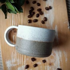 Made on a pottery wheel, unique Cappuccino Cups, Pottery Wheel, Stoneware, Etsy Seller, Ceramics, Mugs, Unique Jewelry, Tableware, Handmade Gifts