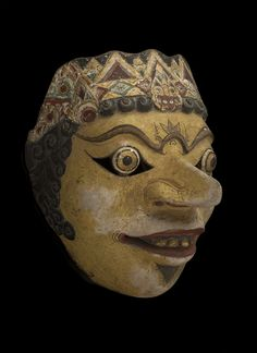 Java - Topeng Mask, Early 20th c.