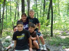 Me and the nephews made it to the highest point in Missouri on top of Taum Sauk Mountain!