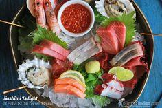 Sashimi Delight at Baba IKI, Sri panwa Phuket  #photooftheday #Phuketindex #Phuket #Thailand #SripanwaPhuket #BabaIKI #SashimiDelight #Sashimi #seafood #JapaneseRestaurant #JapaneseFood #gourmet #instafood #sushi #tuna #salmon