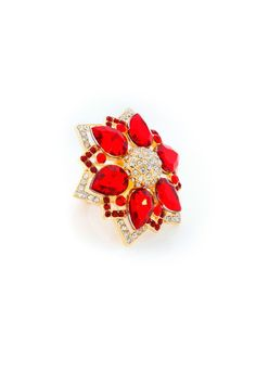 Poppy Gemstone Ring but not with an adjustable ring