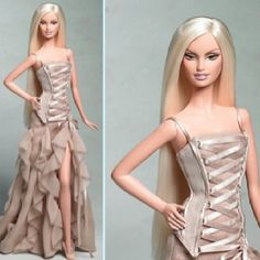 Did Versace make this dress for Beyonce or Barbie?