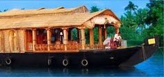 Houseboats in Kerala ,book online @ www.myHouseboats.com