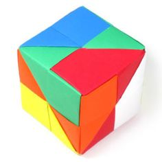 Instructions to learn how to make various kinds of origami cube. Box Origami, Origami Modular, Geometric Origami, Origami And Quilling, Origami Envelope, Paper Crafts Origami, Origami Folding, Origami Easy, Paper Cube