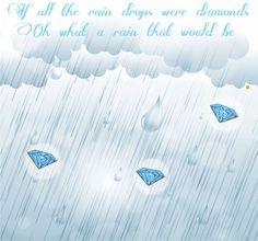 It's raining diamonds!