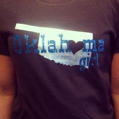 Oklahoma girl Oklahoma shirt