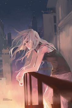 """""""The more I'm surrounded by, the more alone I feel."""" - Shilin Huang on TokyoOtakuMode.com"""
