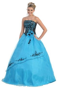 Ball Gown Formal Prom Strapless Wedding Dress