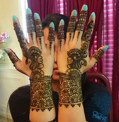 Manishas Mehendi Designs. 21 October 2016