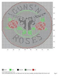 Image result for guns 'n roses intarsia knitting chart