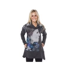 One O One Paris: Fancy Face Tunic, NOW UP TO SIZE US 30-32, only on wildcurves.com!