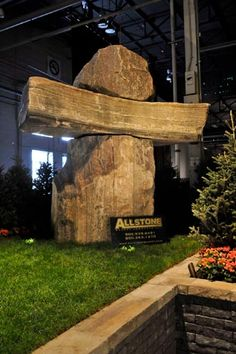 Inukshuk by Joe Melo and Allstone Quarry, Photo by ShootPhoto.ca