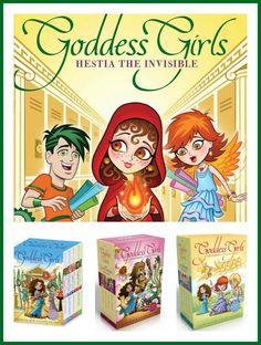 Goddess Girls - Hestia collage