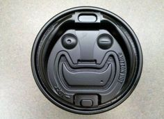 Try telling these objects that they're not alive. Go ahead. That's what we thought. These guys are alive and kicking. You can tell be their extremel. Things With Faces, Coffee Cup Design, Coffee Supplies, Wtf Face, Unique Faces, I Love Coffee, Natural Face, Everyday Items, Make Your Mark