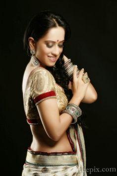 Monali sehgal photoshoot in chiffon saree