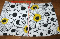 Easy zipper tutorial with lots of pics.