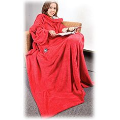 Stay close with your loved one this valentines day with this Snuggle Me Micro Coral Fleece Blanket! Soft and comfortable 100% polyester micro coral fleece blanket has 2 oversized arm sleeves and front pocket.