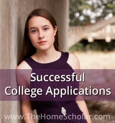 What can we glean from this successful #homeschool to college application? @TheHomeScholar