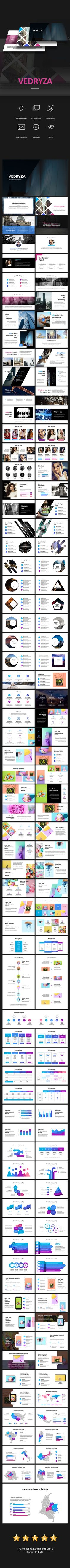 #Vedryza Powerpoint - Creative #PowerPoint Templates Download here: https://graphicriver.net/item/vedryza-powerpoint/20464602?ref=alena994