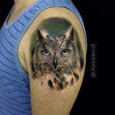 Bildergebnis für wolf eule tattoo arm