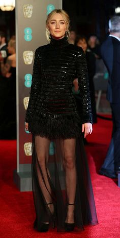 The movement Time's Up against inequality and harassment dominated the British red carpet. A black dress code was set to show support for the campaign Celebrity Red Carpet, Celebrity Style, The Baftas, Critic Choice Awards, Red Carpet Looks, Celebs, Celebrities, Thing 1 Thing 2, Dress Codes