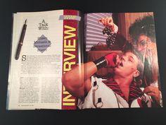 WWF WWE Magazine July 1992 Ultimate Warrior Hogan Micheals Shango W/ Sleeve