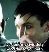 Robin Lord Taylor GIF HUNT This gif hunt contains gifs of Robin Lord Taylor. None of these gifs are mine and I take no credit for them. If any of the gifs are yours, feel free to send me an ask. Penguin Gotham, Robin Taylor, Lord & Taylor, Random Stuff, Gifs, Batman, Actors, Night, Board